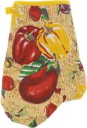 """Варежка-прихватка Home Queen """"Перец"""", цвет: желтый, красный, зеленый,..."""