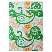 """Скатерть """"Boyscout"""", прямоугольная, цвет: зеленый, оранжевый, 110 x..."""