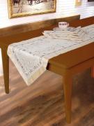 SL 09026 Комплект столового белья 5 предметов, бежевый.