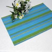 """Салфетки под столовые приборы """"Schaefer"""", цвет: синий, 35 х 50 см, 2..."""