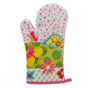 """Рукавица-прихватка """"LaSella"""", цвет: белый, розовый, зеленый, 30 см...."""