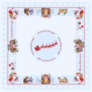 Скатерть Apolena коллекция Мир детства 140x140 Новогодняя сказка...