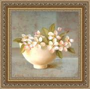 Яблоневый цвет (Fabrice de Villeneuve), 30 x 30 см
