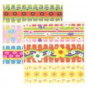"""Набор переводных наклеек для яиц Home Queen """"Цветы"""", 6 шт"""