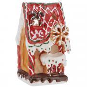"""Новогодний декоративный подсвечник House & Holder """"Домик"""", цвет:..."""
