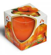 Свеча в стакане аромат апельсина