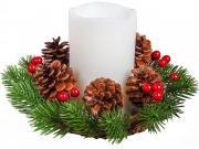 Свечи и подсвечники Неизвестный Свеча декоративная CHT-1-A [F-0068722]