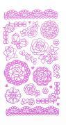 """Набор декоративных наклеек Home Queen """"Цветочное настроение. Розы"""",..."""