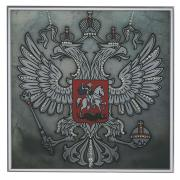 "Картина с кристаллами Swarovski ""Герб"", 25 см х 25 см"