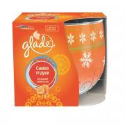 """Свеча ароматизированная Glade """"Смейся от души"""", сладкий апельсин, 120..."""