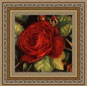 Красная роза (Kathryn White), 18 х 18 см