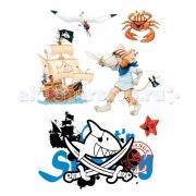 Spiegelburg Наклейки для стен Capt'n Sharky 21302