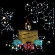 Giftcrystal 1229 Новогодняя свеча giftcrystal