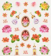 """Набор декоративных наклеек Home Queen """"Народное искусство"""", 31 шт"""