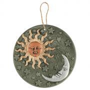 """Декоративное настенное украшение Gardman """"Солнце & Луна"""", диаметр 23..."""