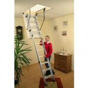 Складная чердачная лестница Oman Alu Profi 112x70