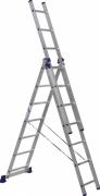 Лестница Алюмет 5307 3* 7 алюминиевая