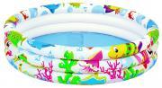 """Бассейн надувной Jilong """"Sea World"""", 91 см х 25 см"""