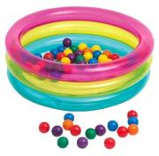 Бассейн надувной Intex Classic Three Ring Baby Ball Pit 48674