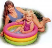 "Бассейн надувной INTEX ""Sunset Glow Baby Pool"" 86x25cm (до 3-х лет)"