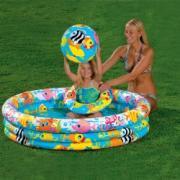 Детский надувной бассейн Intex Fishbowl Pool (59469)