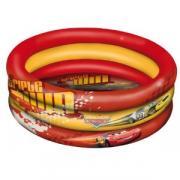 """Надувной бассейн Mondo """"Тачки"""", цвет: красный, желтый, 100 см"""