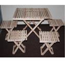 """Набор мебели для пикника """"Счастливый дачник"""", 5 предметов"""