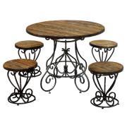 Комплект садовой мебели МФДМ Магнолия-K2 (под старину) Массив сосны...