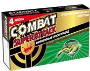 """Ловушки для муравьев """"Combat Superattack"""", 4 шт"""