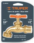 Кран Truper Ll-jar-b-2 13147