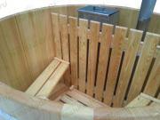 Крышка лиственичная для овальной фурако (120*160 см)