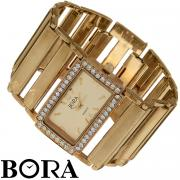"""Часы женские наручные """"Bora"""", цвет: золотой. T-B-8519-WATCH-GOLD"""