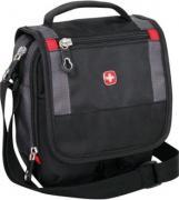 Мужские сумки Wenger Сумка-планшет WENGER, черный/серый, 15x5x22 см...