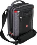 Мужские сумки Wenger Сумка-планшет WENGER, черный/серый, 22x9x29 см...