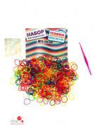 Резинки для плетения браслетов Mitya Veselkov, цвет мультиколор