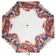"""Зонт женский """"Eleganzza"""", автомат, 3 сложения, цвет: белый, красный...."""