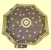 """Зонт 23"""" цв., полный автомат, Дживанши черный с золотом"""