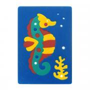"""Мягкая мозаика Флексика """"Морской конек"""", цвет: синий"""