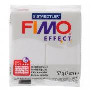 """Полимерная глина Fimo """"Effect Metallic"""", цвет: белый, 57 г"""