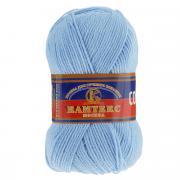 """Пряжа для вязания Камтекс """"Соната"""", цвет: светло-голубой (015), 250 м,..."""