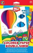 """Цветная бумага Erich Krause """"Artberry"""", двусторонняя, формат B5, 20..."""
