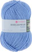 """Пряжа для вязания Пехорка """"Популярная"""", цвет: голубая пролеска (520),..."""