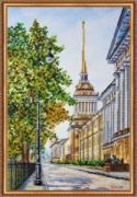 Абрис Арт Набор для вышивания бисером Городские зарисовки -1 AB-313