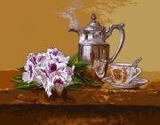 Goblenset Набор для вышивания Натюрморт (5 o clock tea) гобелен G741