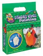 """Набор для раскрашивания Amav """"Разрисуй попугая 3D"""""""