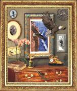 Краса и творчество Набор для вышивания Полет орла (Панорамная вышивка)...