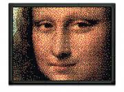 """Пиксельная мозаика серии Арт """"Джоконда"""" из 10800 элементов"""