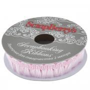"Лента декоративная ScrapBerry's ""Хвостики"", цвет: розовый, 1,5 х 200..."