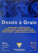 "Блокнот для черчения и рисования Clairefontaine ""Dessin A Grain"", 30..."