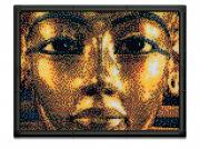 """Пиксельная мозаика серии Арт """"Тутанхамон"""" из 10800 элементов."""